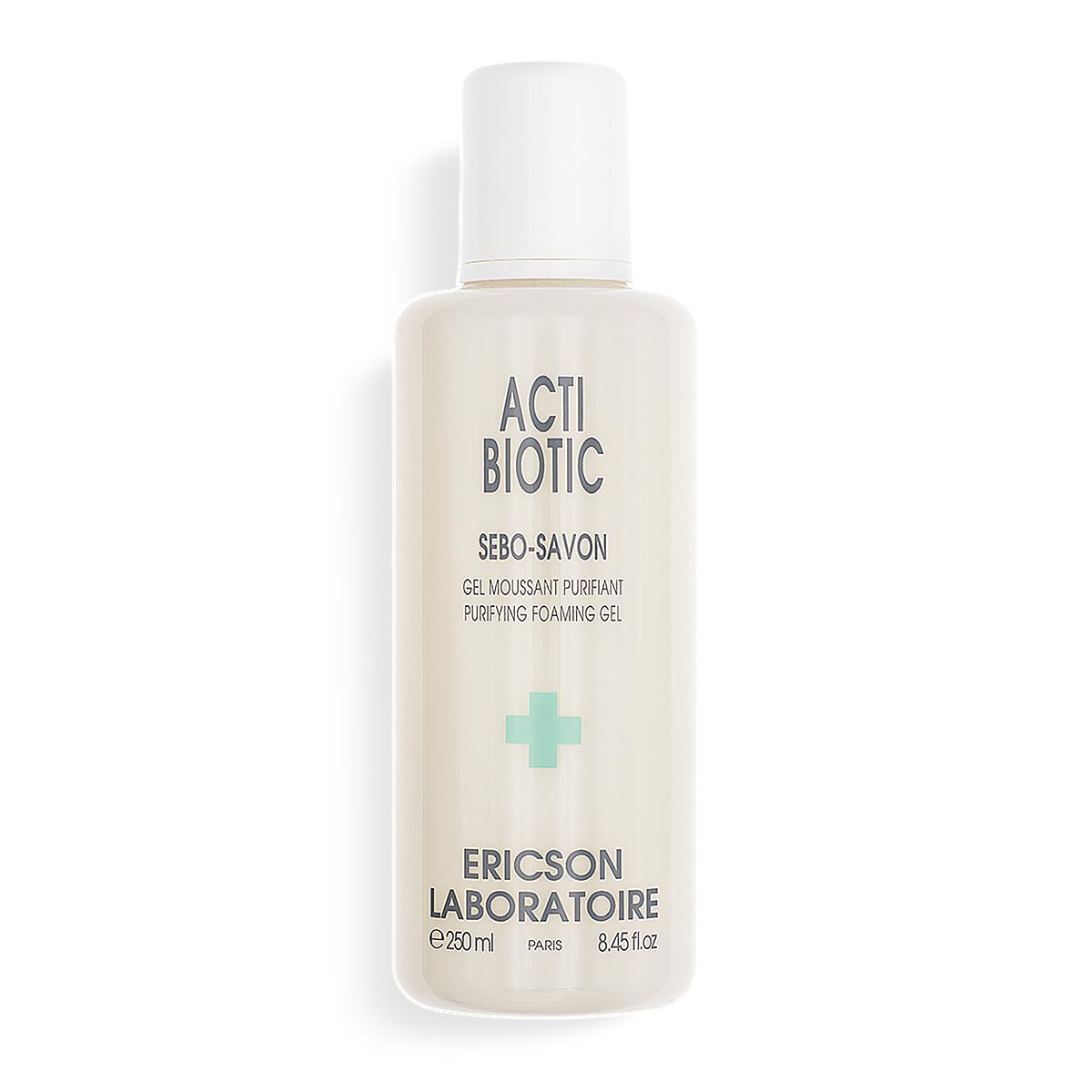ACTI BIOTIC E834 - Gel rửa mặt cho da dầu, mụn Sebo Soap